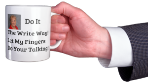 business coffee mug