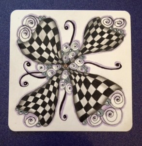 Zentangle Butterflyl
