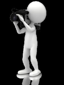 video editing camera person
