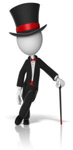 classy_stick_figure wearing a top_hat_lelaning on a cane