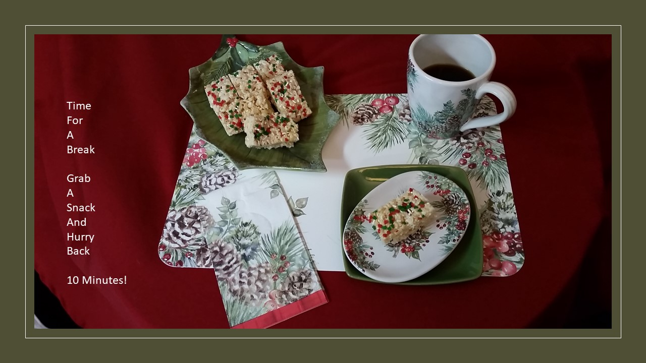 Coffee Break Christmas Theme