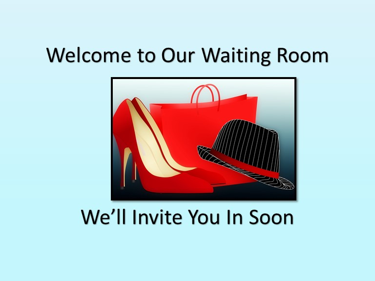 business infographics - Welcome to the Waiting Room