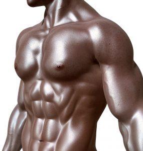 greased torso of a bodybuilder #HaikuPoetry #vss365 #prompt #butter
