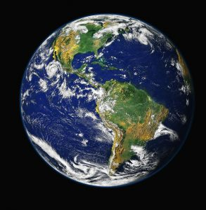 View of earth from space for #vss365