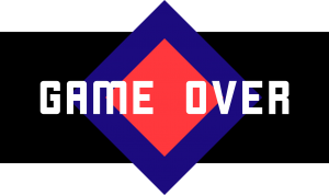 """Infographic """"Game Over"""""""
