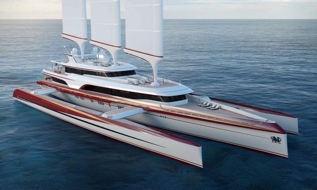 A custom-designed yacht - photo by willoh