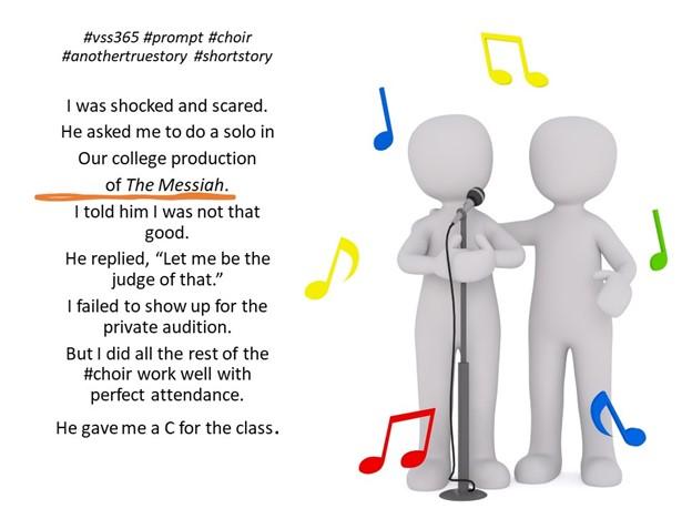 #vss365 #prompt #choir #anothertruestory #shorttory