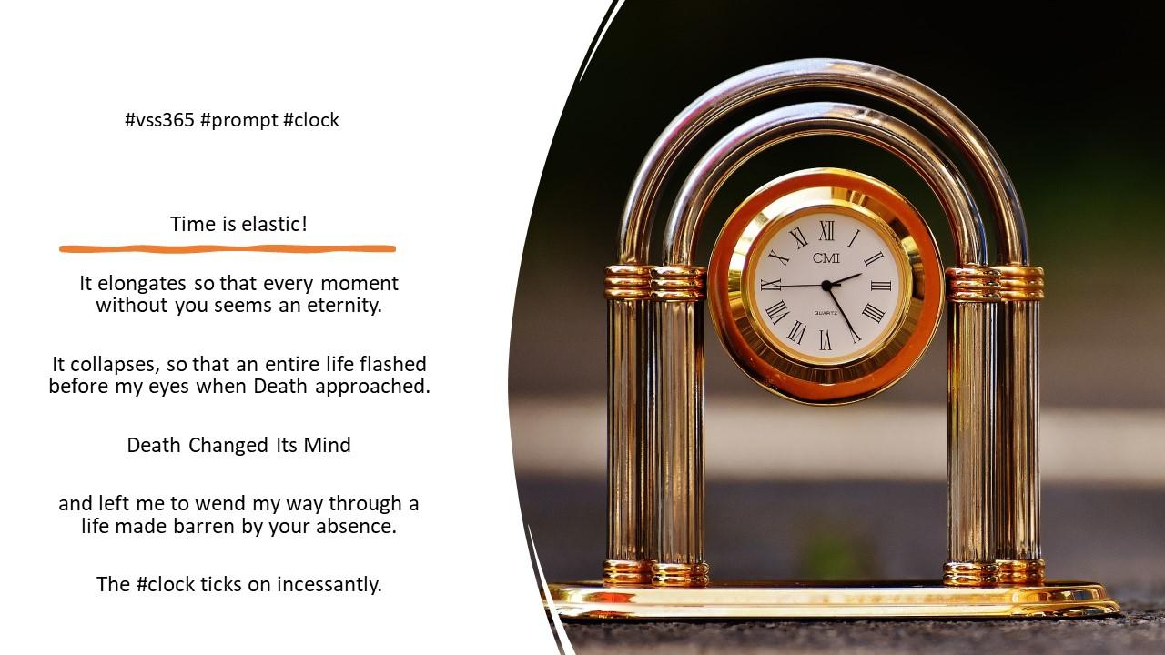 #vss365 #prompt #clock #poem
