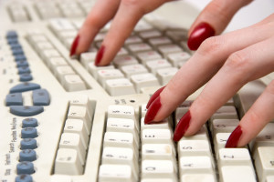 fingers on keyboard, My Persuasive Presentations, LLC